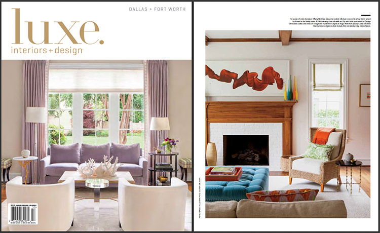 Luxe Magazine Feature